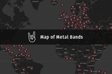 Metal Map Zoran Perin