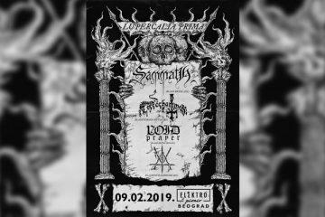 Black Metal veče u Elektropioniru
