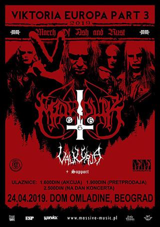 Marduk u Beogradu