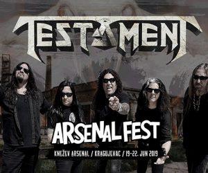 Testament Arsenal Fest