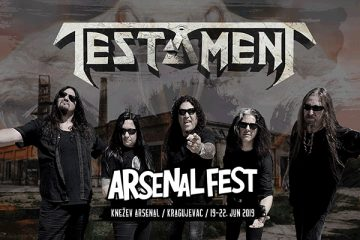 Testament Arsenal Fest