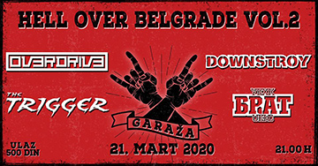 Hell Over Belgrade fest