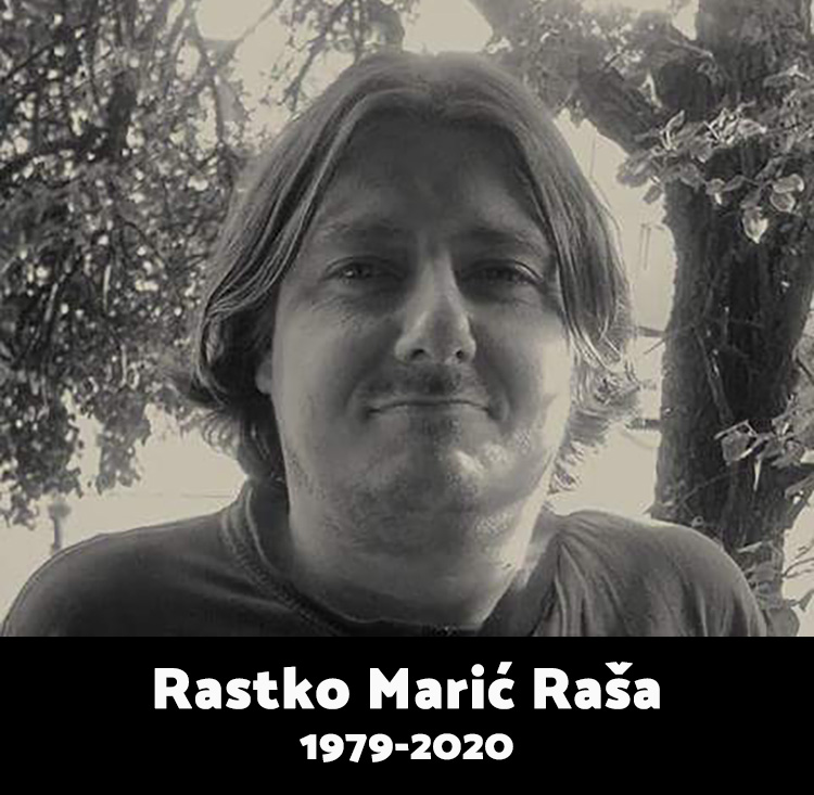 Rastko Marić RIP