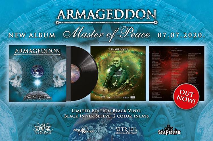 Armageddon - Master of Peace letak