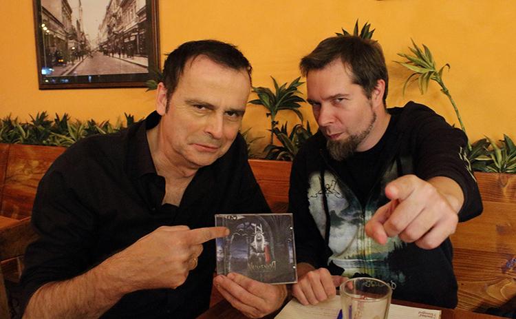 Glavni uzor: Marko (desno) sa Hansijem