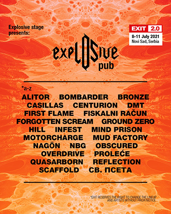Explosive Pub Exit Festival