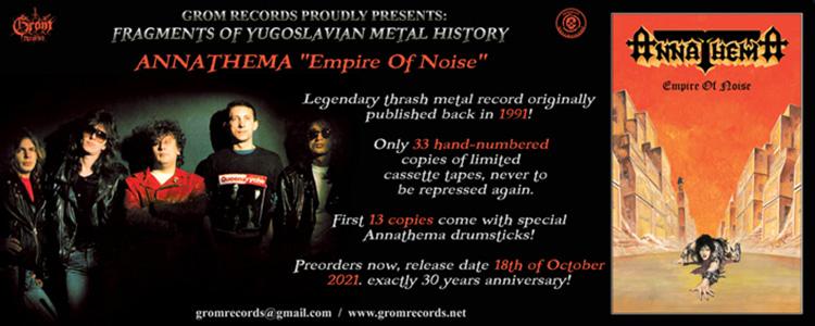 Annathema - Empire of Noise kaseta