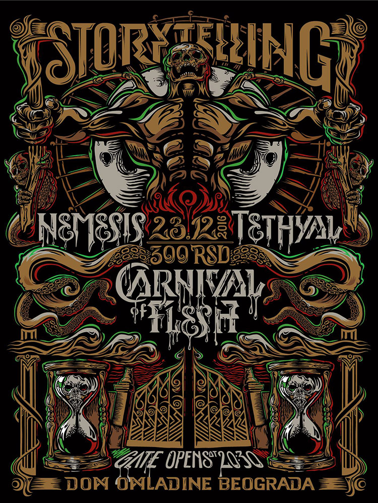 Carnival of Flesh Storytelling