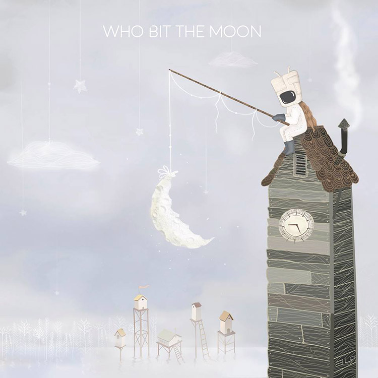 David Maxim Micić - Who Bit the Moon