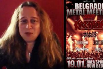 Kreator Belgrade Metal Meeting