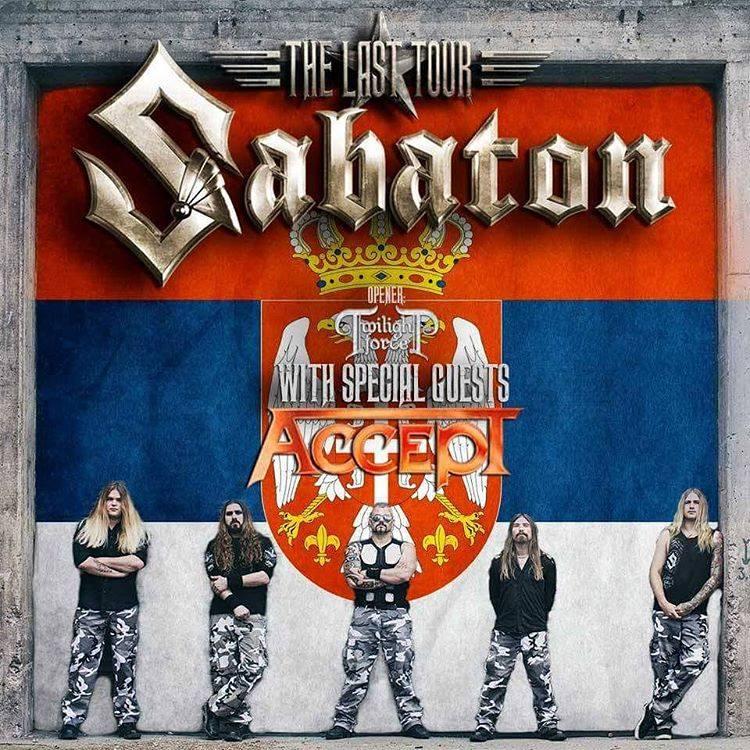 Sabaton u Beogradu